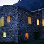 maison en pierre d'architecte