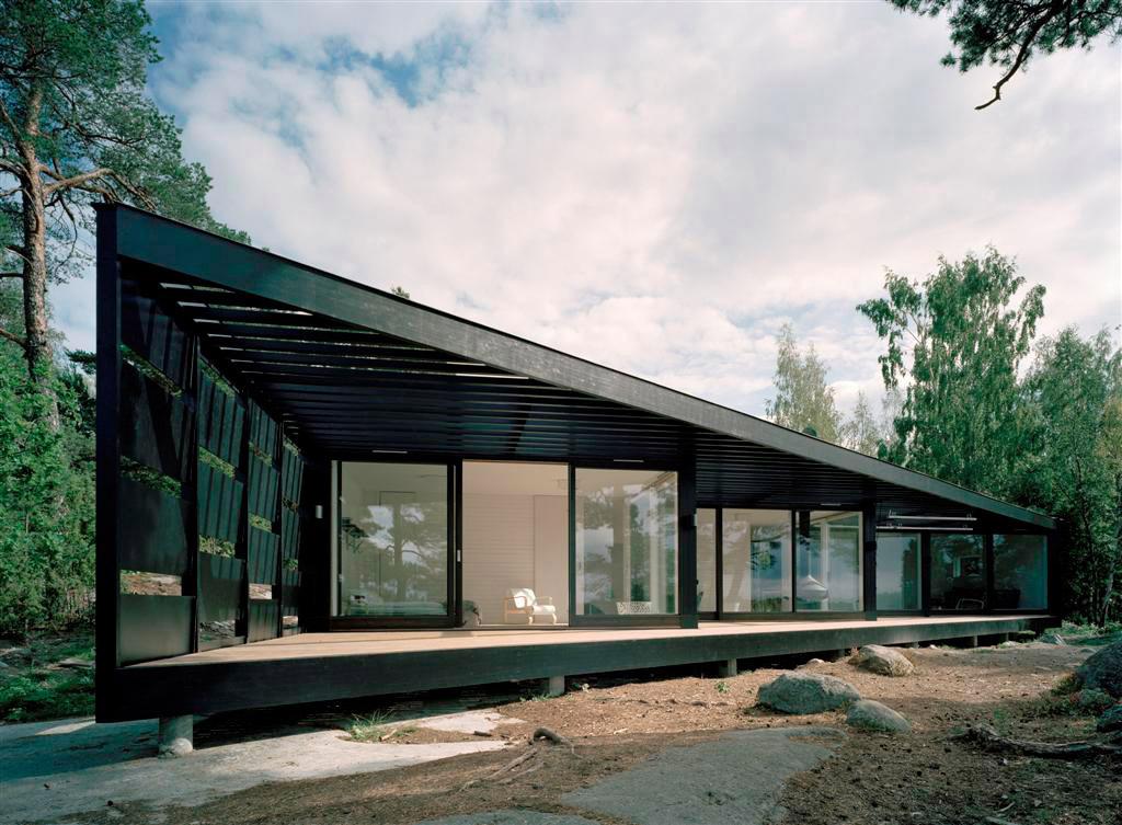 En pierre d architecte toit plat achat for Achat maison architecte