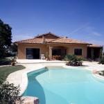 maison originale avec piscine