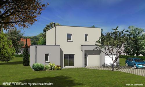 maison originale contemporaine toit plat. Black Bedroom Furniture Sets. Home Design Ideas