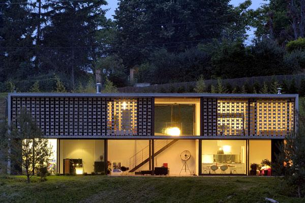 maison originale moderne. Black Bedroom Furniture Sets. Home Design Ideas