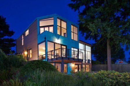 Maison originale moderne tendance for Maison originale moderne