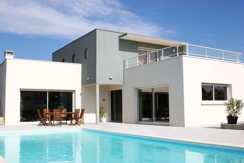Photo de maison d architecte for Belle maison moderne architecte