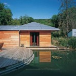 photo de maison de star contemporaine toit plat