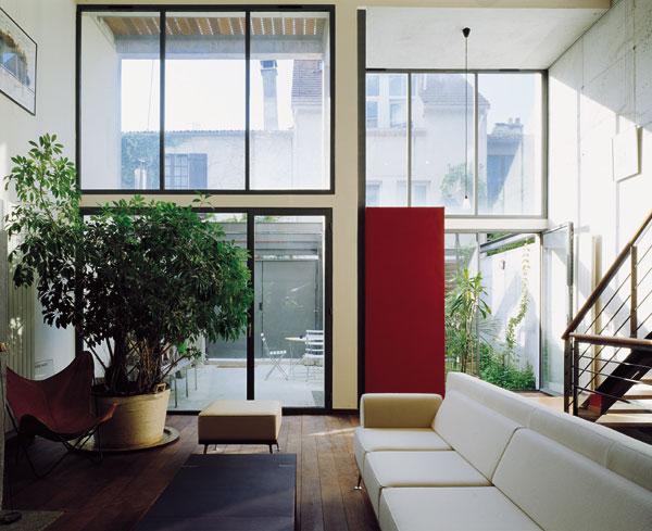 de maison de ville d architecte 2014. Black Bedroom Furniture Sets. Home Design Ideas
