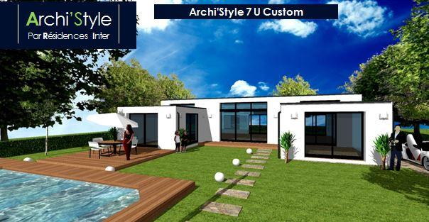 de maison design moderne toit plat 2014