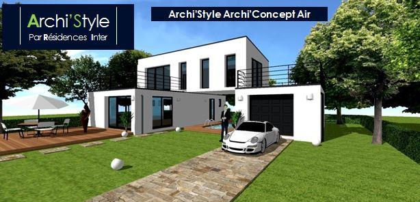 de maison design moderne toit plat tendance