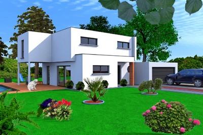 photo de maison en bois de r ve toit plat. Black Bedroom Furniture Sets. Home Design Ideas
