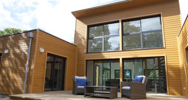 Maison Moderne Ossature Bois. Simple Maison Ossature Bois Plain ...