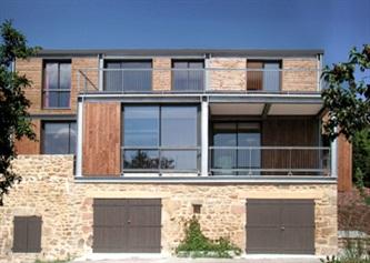 De maison en pierre contemporaine prix for Prix construction maison en pierre