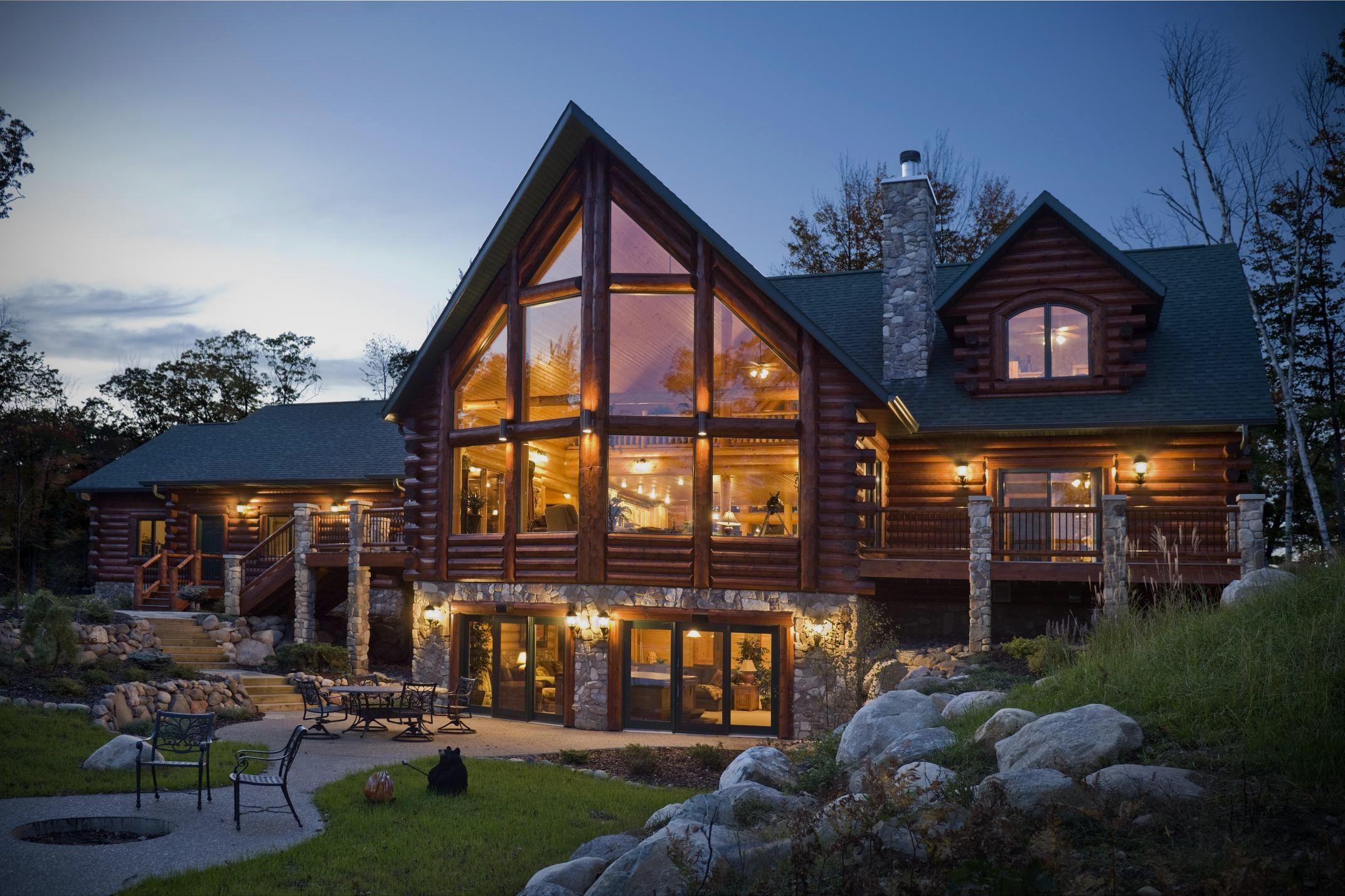 univers photo de maison kit bois de rêve