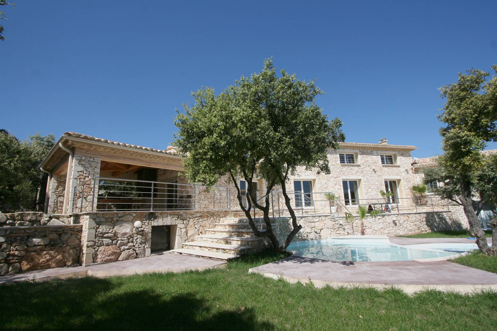 Top Maison Provençale Contemporaine – Maison Moderne GM38