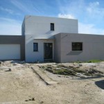 photo de maison provencale moderne toit plat
