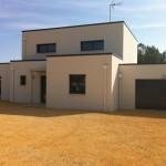 maison contemporaine toit plat