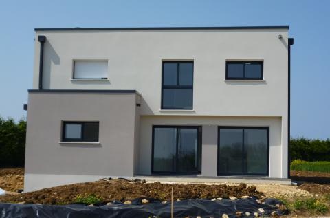 Contemporaine toit plat achat for Achat maison contemporaine