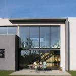 maison neuve contemporaine toit plat