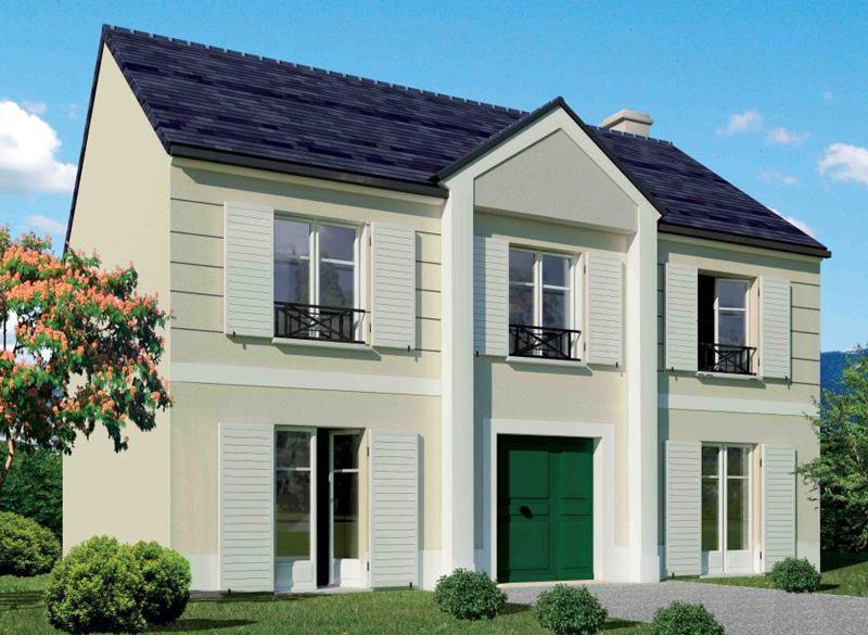 Maison neuve moderne for Conception de maison neuve