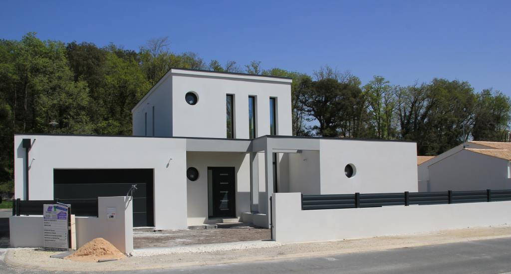 Neuve moderne construction for Maison neuve contemporaine