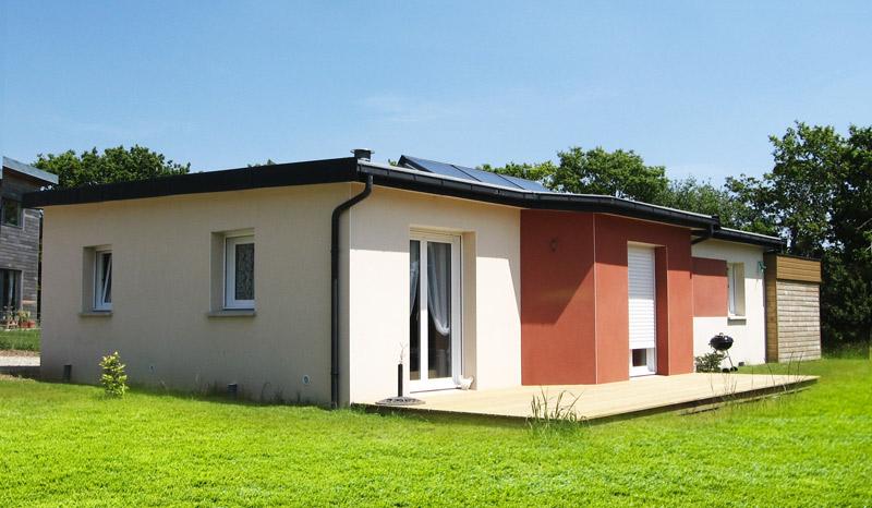 Originale moderne toit plat prix for Maison moderne 06