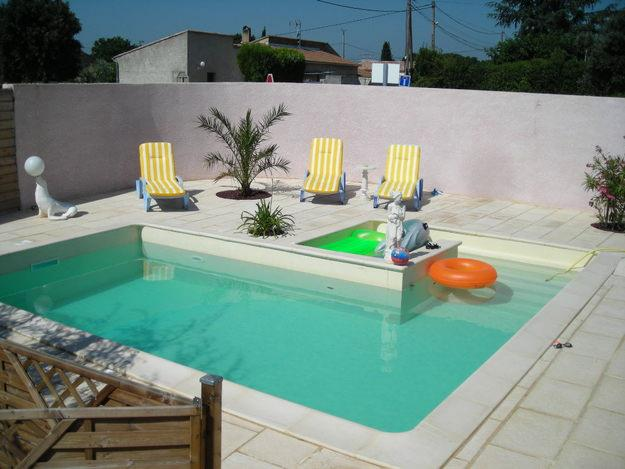 Provencale avec piscine achat for Achat thermopompe piscine