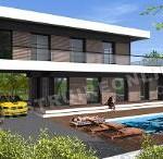 maison provencale contemporaine toit plat