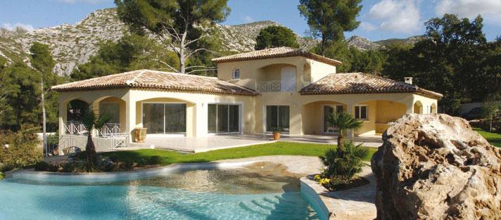 Maison provencale d architecte for Photos d architecture de maison