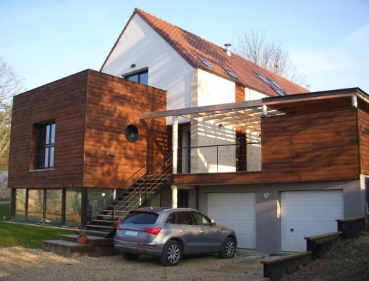 De maison des iles d architecte toit plat 2014 for Maison architecte toit plat