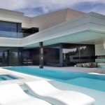 photo de maison design avec piscine