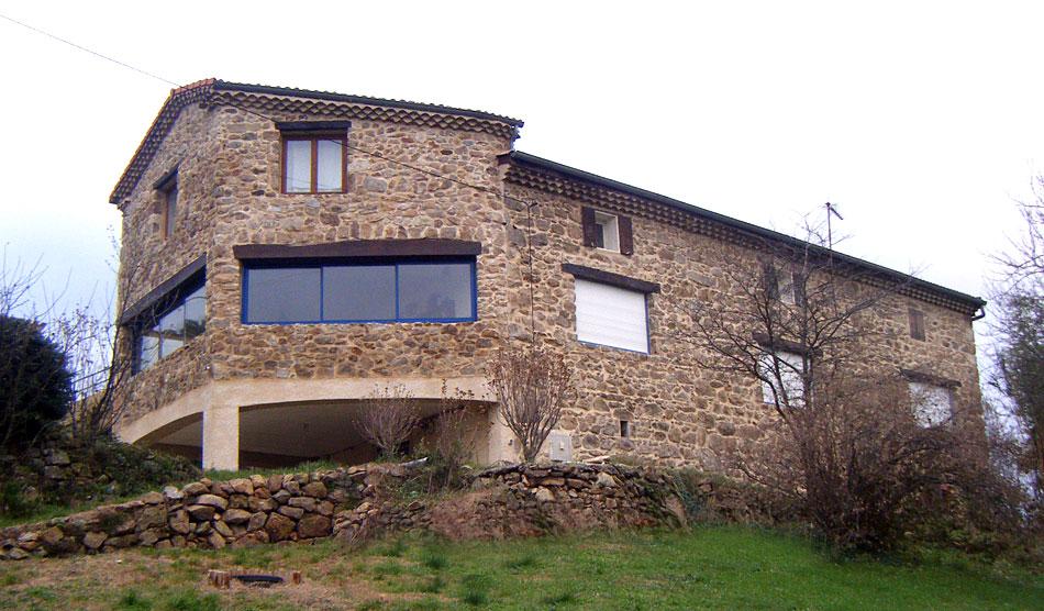 Photo de maison en pierre - Renovation vieille maison pierre ...