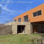 photo de maison en pierre d'architecte