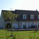 photo de maison neuve contemporaine