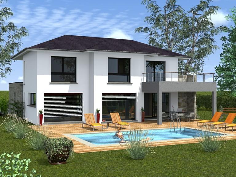 Mod le photo de maison provencale de r ve toit plat for Modele maison toit plat