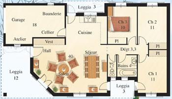 Maison de star contemporaine - Maison de star francaise ...