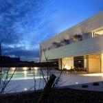 maison de star contemporaine