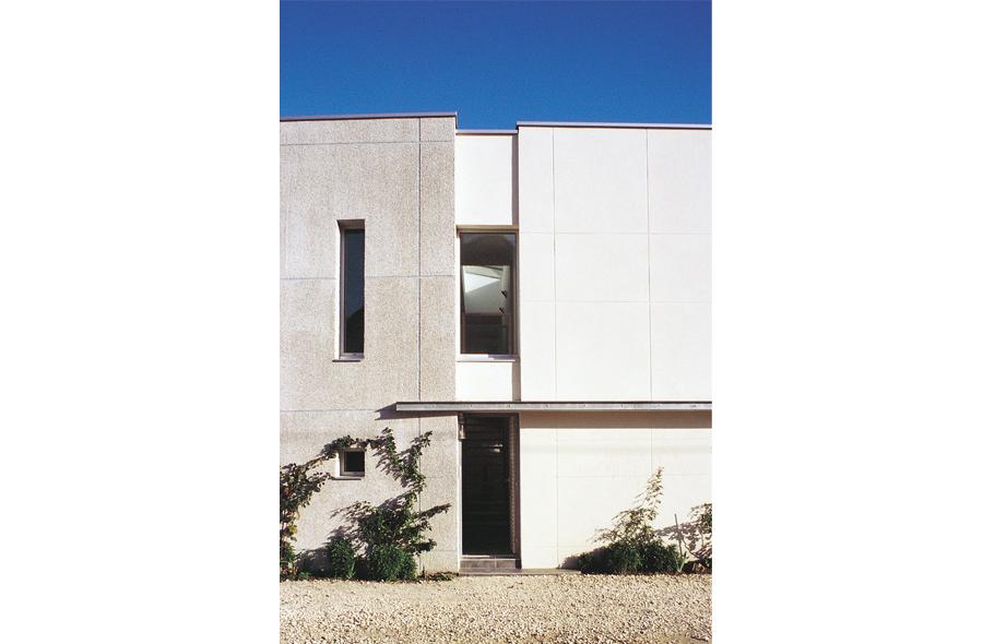 Maison de ville contemporaine for Modele maison de ville contemporaine