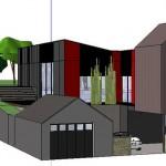 maison de ville d'architecte