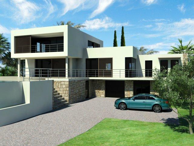 univers maison de ville moderne toit plat - Maison Moderne Ville