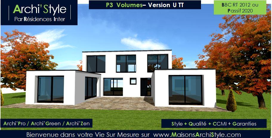 Maison design moderne toit plat for Maison design moderne