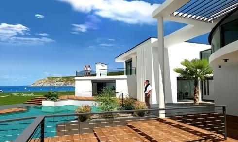 Maison design moderne toit plat for Photo maison design