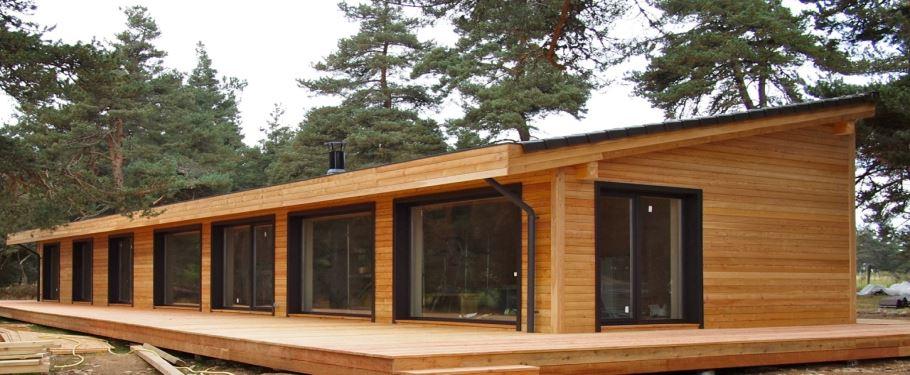 Maison en bois - Maison a finir de construire ...