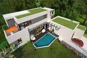 provencale d'architecte toit plat Construction