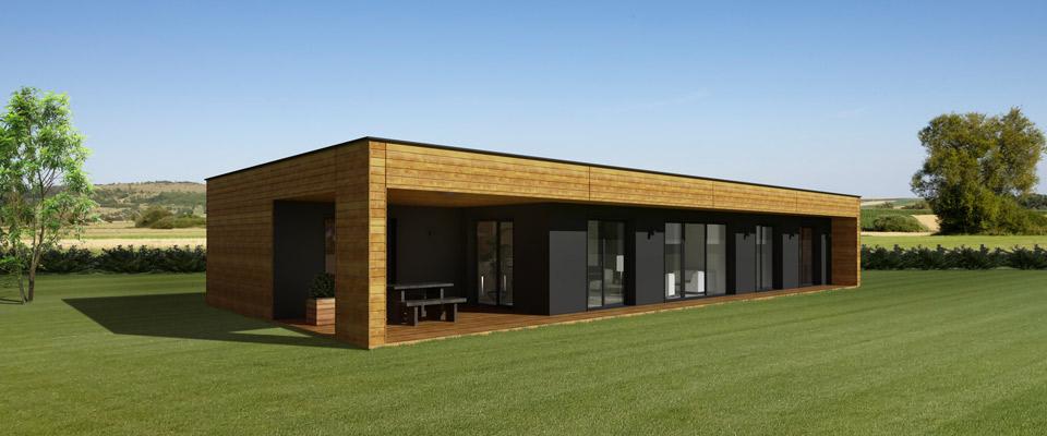 De maison de star moderne toit plat achat for Achat maison en bois