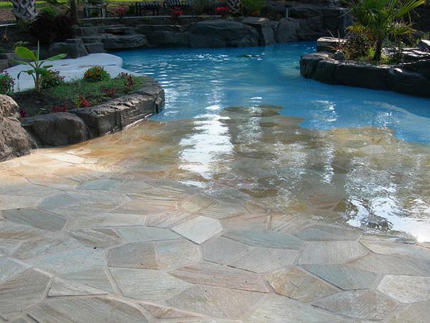 Photo de maison originale avec piscine for Modele maison avec piscine