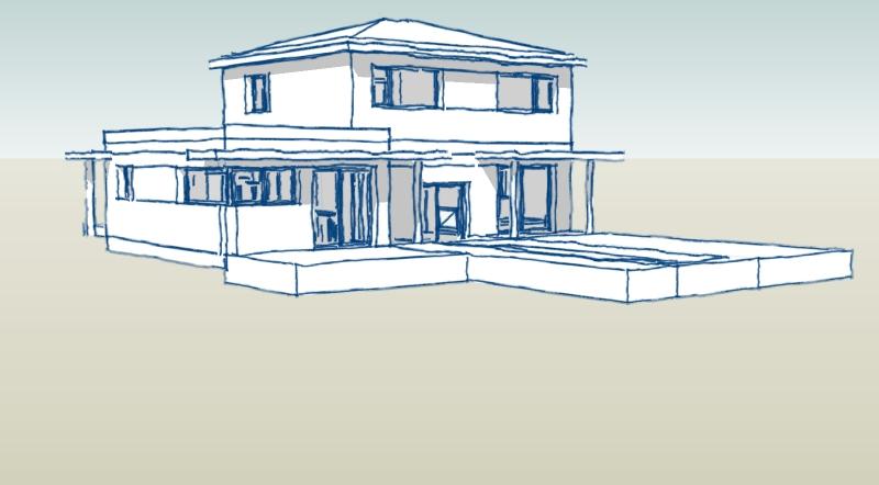 De maison provencale d architecte prix for Architecte prix plan