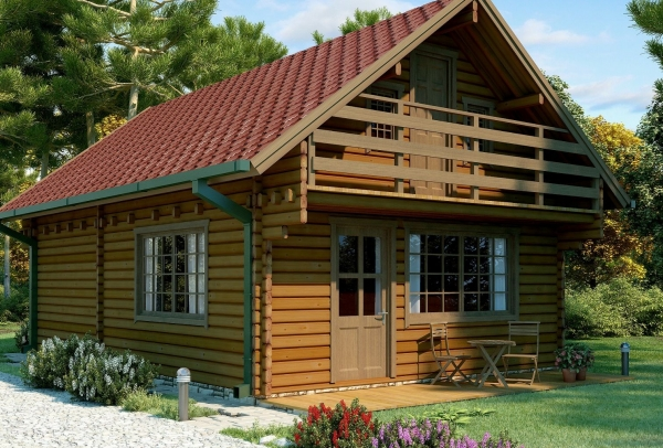 Chalet bois de jardin for Chalet bois abris de jardin