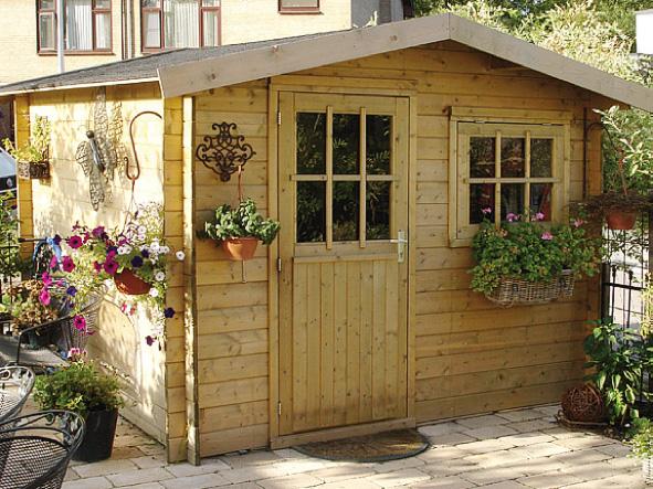 Chalet bois jardin pas cher for Petit chalet en bois pour jardin pas cher