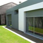 image maison à toit plat