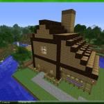 image maison minecraft
