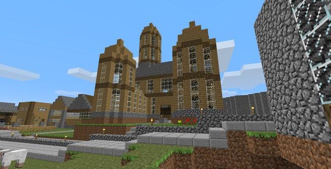 D fis relever minecraft astuces de construction - Maison minecraft simple ...