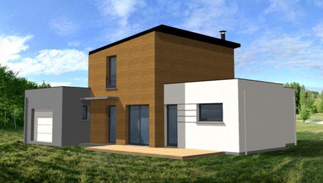 Maison contemporaine modele for Jolie maison moderne